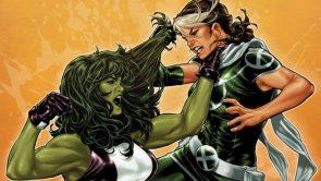 she hulk vs rogue wallpaper