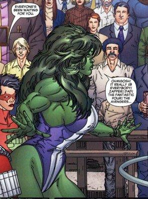she hulk waiting on her