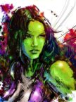 she hulk watercolor