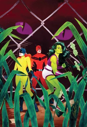 she hulk with antman and wasp