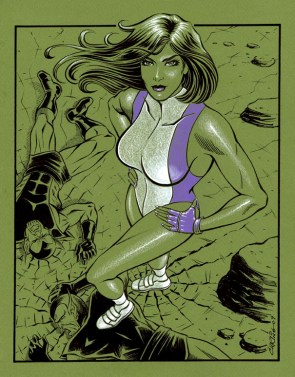 she hulk with hands on hips