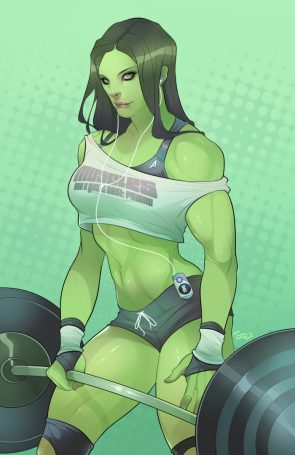 she hulk working out