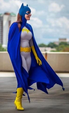 old school batgirl