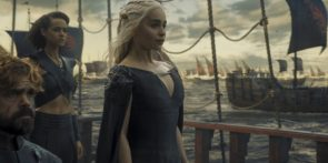 Daenaersy sailing for Westeros