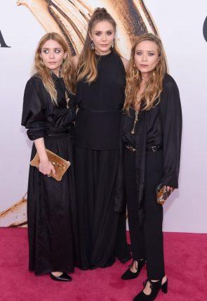 Elizabeth Olsen -Mary Kate Olsen – Ashley Olsen – CFDA Fashion Awards NYC 2016