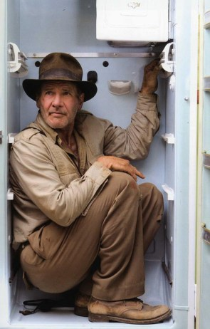 Harrison Ford in a Refrigeration Device