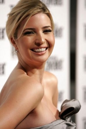 Ivanka Trump has an ample chest