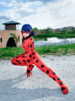 Lady Bug Cosplayer