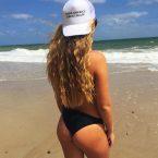 MAGA Ass at the beach