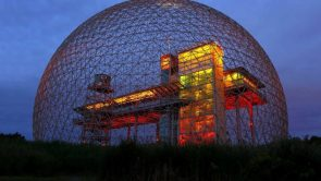 The Biosphere Museum in Montreal Canada