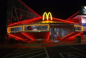 UFO McDonald's in Roswell, New Mexico