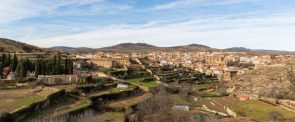 View of the old town of Ágreda 2015-01-02