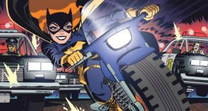 batgirl on her bike