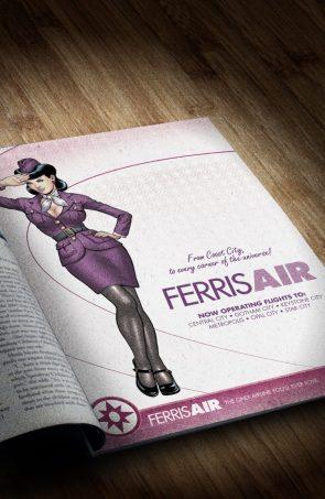 ferris air advertisement