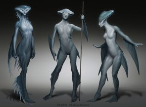 fish people by Nate Hallinan