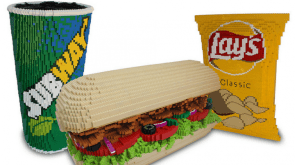 lego subway meal