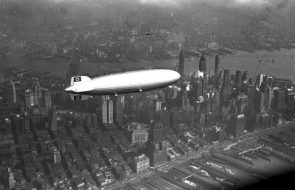 nazi blimp over NYC