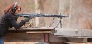 red head machine gunner