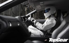 top gear stig in car