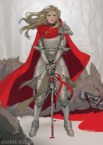 armored red riding hood