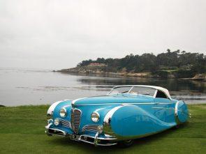 1949 Delahaye 175 S Saoutchik roadster in blue
