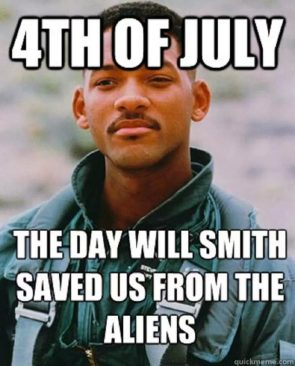 4th of july – the day will smith saved us from the aliens