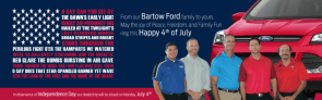 Bartow Ford Family on the Fourth
