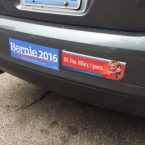 Bernie Sander's Supporter's Bumper Stickers