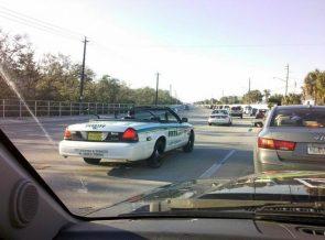 Convertible Sheriff's Car