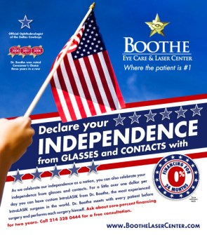 Declare your independence from glasses and contacts