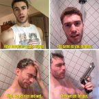 How American People Shower