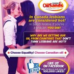 In Canada lesbians are considered hot