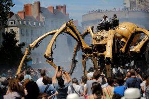Massive Robot Crab