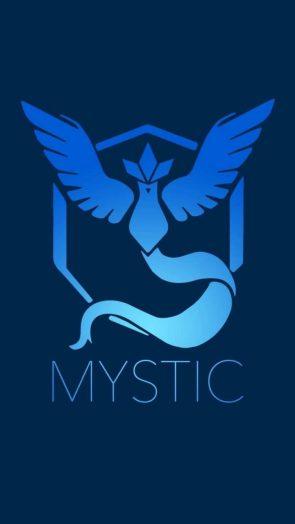 Mystic Team is blue