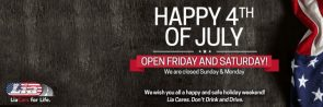 Open Friday and Saturday