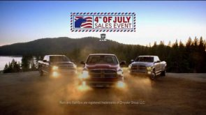 Ram Truck fourth of july