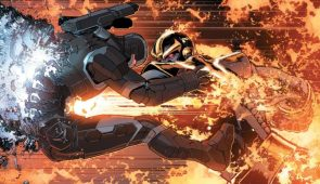 Thanos Vs War Machine