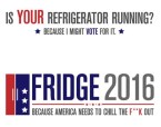 if your refrigerator running