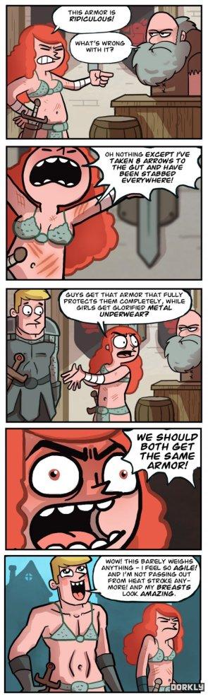 Same armor