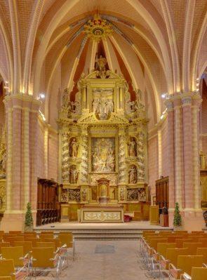 the church of San Pedro de los Francos, located in Calatayud, Aragon, Spain