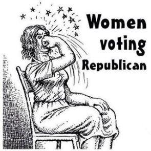 women voting republican