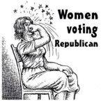 Women Voting Republican