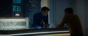 Bones has a drink with Kirk