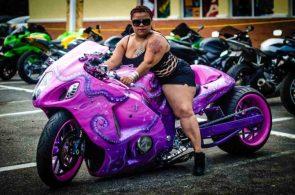 Epic Purple Bike