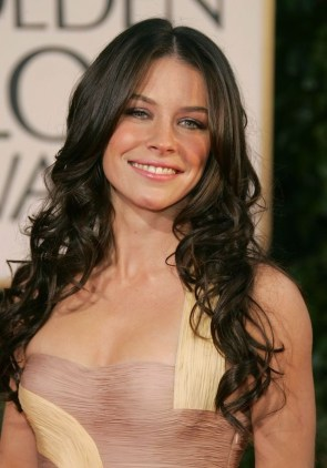 Evangeline Lily in nice dress