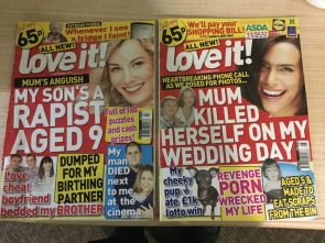 Love it magazine covers