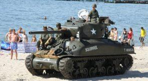 M4 Sherman At The Beach