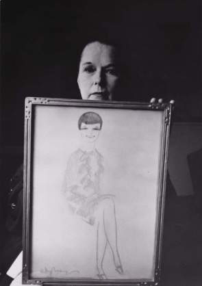 Louise Brooks in 1965 – Photograph by Roddy McDowall
