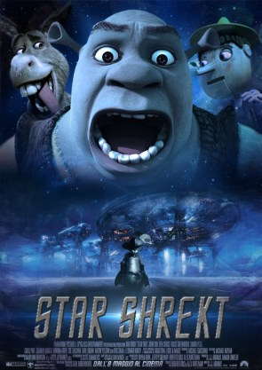 Star Shrek Movie Posters