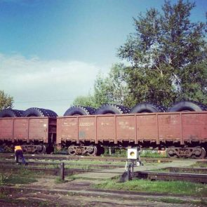 Tire Transportation by Rail